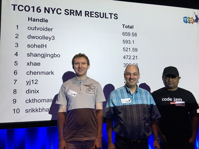 TCO 16 NYC SRM Results
